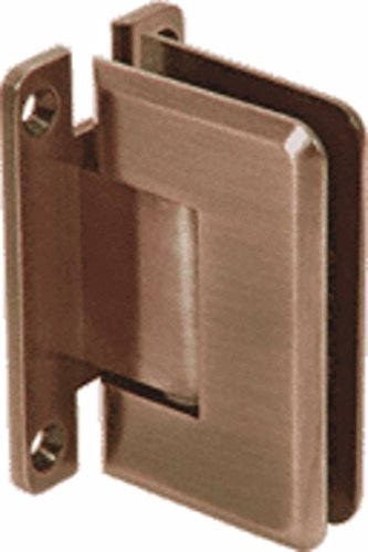 C.R. LAURENCE P1N037ABR CRL Antique Brass Pinnacle 037 Series Wall Mount Full Back Plate Standard - Pinnacle Series Wall