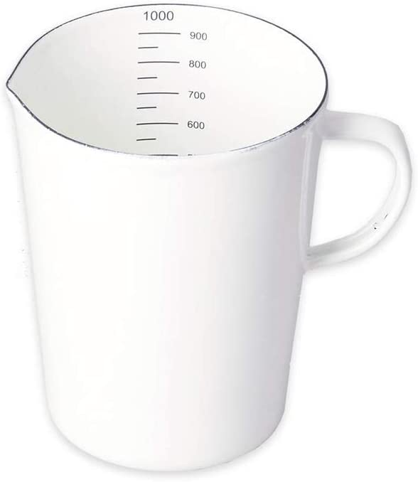 utensile da cucina 0.5 Liter Tazza smaltata per acqua e bevande HARVESTFLY