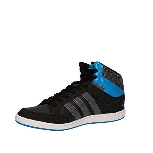 adidas HOOPS MID K - Zapatillas deportivaspara niños, Negro - (NEGBAS/ONIX/AZUSOL), -5