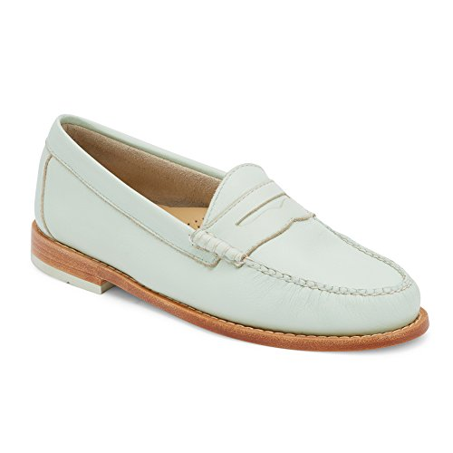 G.H. Bass & Co. Womens Whitney Mint Penny Loafer - (Ladies Penny Loafers)