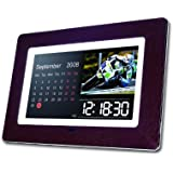 Hannspree SD80M7MB 8-Inch LCD 256MB SD/SDHD/MMC/MS-Pro/MS/XD/CF USB 2.0 Ceramic Digital Photo Frame with MP3 and Video Player (Ocean)