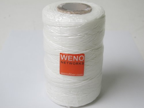 WAXED LACING CORD TWINE / CABLE TIE DOWN, POLYESTER, 9-PLY, 189 YARDS, 567 FEET, TENSILE STRENGTH: 105 LBS ()