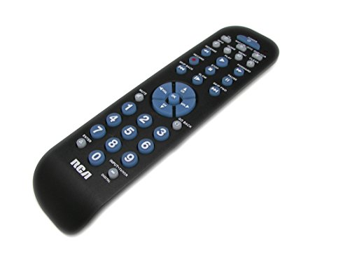 RCABlack Universal Remote Control for Magnavox GE, Zenith Apex Insignia Digital Converter Box Boxes & Many More TV/DVD