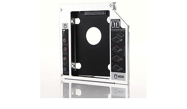 DY-tech 2nd Hard Drive HDD SSD Caddy for Fujitsu Lifebook E751 S751 E752 E780 E781 E782