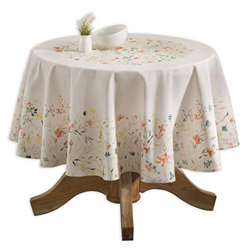 Maison d' Hermine Colmar 100% Cotton Tablecloth 63 Inch Round