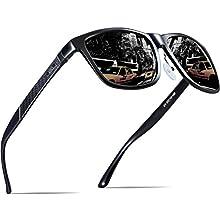 Men's Hot Retro Metal Frame Polarized Sunglasses