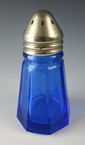 Depression Glass Cobalt (Hazel-Atlas Glass 1533-COBALT BLUE Salt Shaker(s) EXCELLENT)