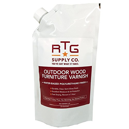 RTG Outdoor Wood Furniture Varnish (Quart)