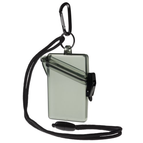 Witz See It Safe Waterproof Case, Military (Safe Dry Case Green)