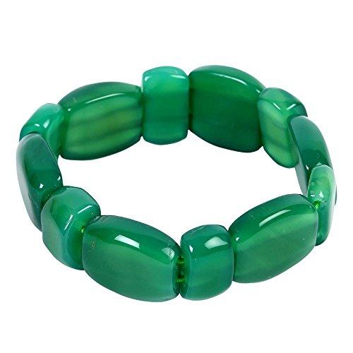 Satyamani Green Onyx Bracelet -
