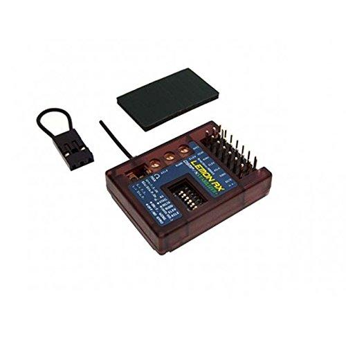 Lemon-RX DSMP/X Compatible 7-Channel Receiver with Stabilizer Plus (Top-Pin) LM0042 (Flight Stabilizer)