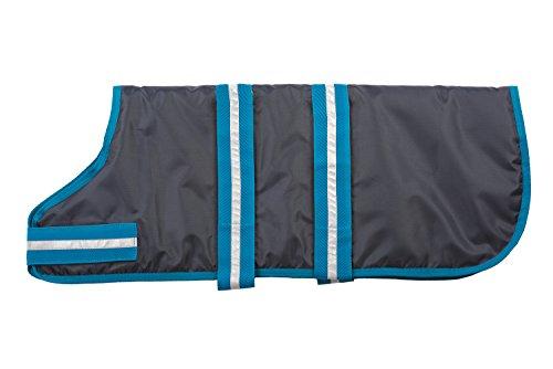 - Fashion Pet Outdoor Dog Blanket Coat, Medium, Blue