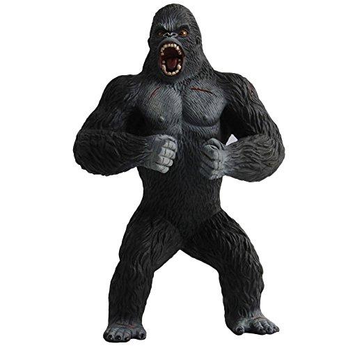 Meiyiu シミュレーションチンパンジー映画 野生動物 モンキー ポリ塩化ビニルフィギュア ゴリラ コレクターモデル おもちゃ