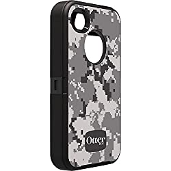 OtterBox Defender Series Military Camo for iPhone 4/4S - Retail Packaging - Digi Urban/Black from case-top
