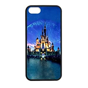 diy zhengDIY Design Cute Disney Castle-Protective TPU Cover Case for iphone 5/5s// (Laser Technology)case Perfect as Christmas gift04