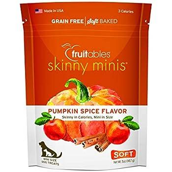 Amazon.com : Fruitables Pumpkin Spice Dog Treats, 5 Ounce