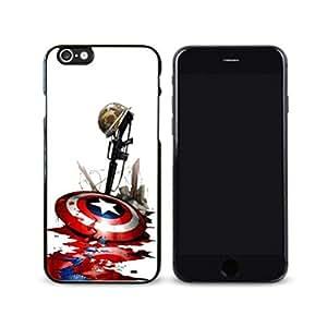 SuperHero Captain America image Custom iPhone 6 Plus 5.5 Inch Individualized Hard Case by Maris's Diary