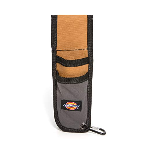 (Dickies Work Gear 57010 Grey/Tan Utility Knife Sheath with Cut-Preventive Sheath Lining)