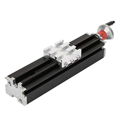 200mm Metal Cross Slide Block Z010M For Lathe Axis X/Y/Z Mechanical Parts Tool Iron + Aluminium Alloy 9.1 × 2.0 × 2.0 in