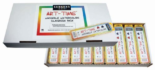 Sargent Art 66-8231 36-Count Art-Time Watercolor, Best Buy Assortment -  SAR668231
