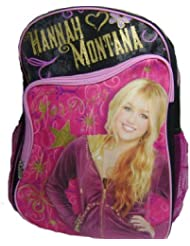 Hannah Montana 16 Inch Backpack - Hannah Montana Forever - Wearing Black Necklaces