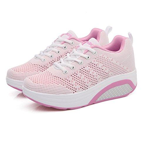Basket Fashion Voyage de Chaussure Femme LFEU Légère Sport orthoptique Mode Textile Sneakers IwA4Sq
