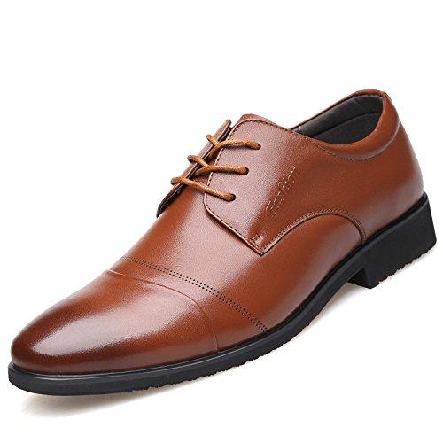 WZG Chaussures affaires des hommes de nouveaux hommes en cuir noir chaussures de mariage en dentelle, chaussures de travail, chaussures sport, chaussures habillées Angleterre