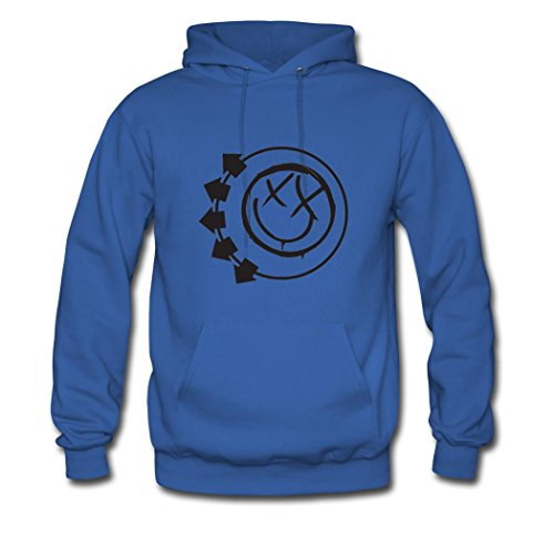 OIAE Men's Blink 182 A Day To Remember Tour 2016 Logo Hoodies Sweatshirt ()