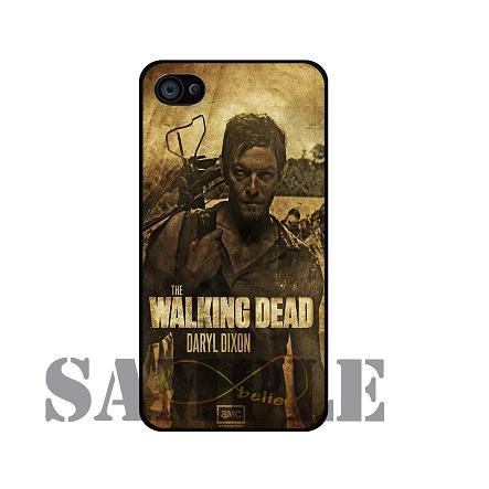 Walking Dead Daryl Dixon - Iphone 5 Case hard Cover - black