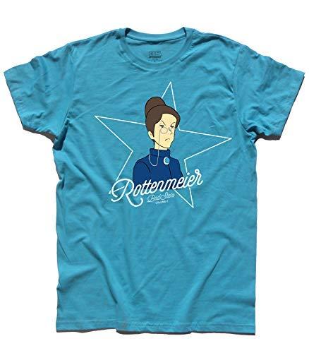 Azzurro Uomo 3stylershop Cartone Heidi T Al Signorina Rottenmeier Ispirata shirt Animato E6vwqZ6