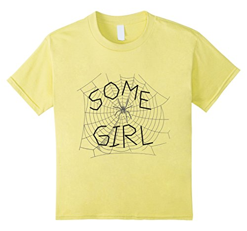 Kids Some Girl Spider Web T-Shirt 6 (Charlotte Web Some Pig)