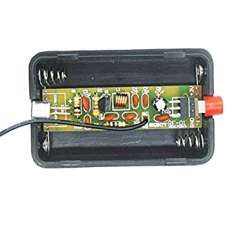 RF-01 DIY micrófono inalámbrico partes 5mA 70MHz FM ...