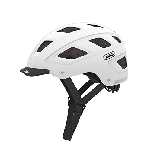 Cycling Helmet Abus Hyban Marsala Red Large 58-63cm Lightweight Rear LED