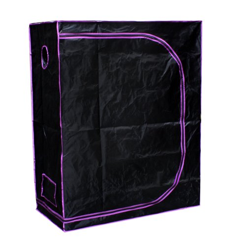 """41af1uJCeXL - Apollo Horticulture 48""""x24""""x60"""" Mylar Hydroponic Grow Tent for Indoor Plant Growing"""