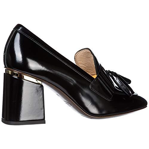 Talon À En Tod's Femme Noir Escarpins Chaussures Cuir qzWpWIt