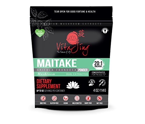 Cheap Maitake Mushroom Extract Powder ★★★20:1 CONCENTRATION★★★ (4oz) ★ORGANIC & CONTAMINANT FREE TESTED★