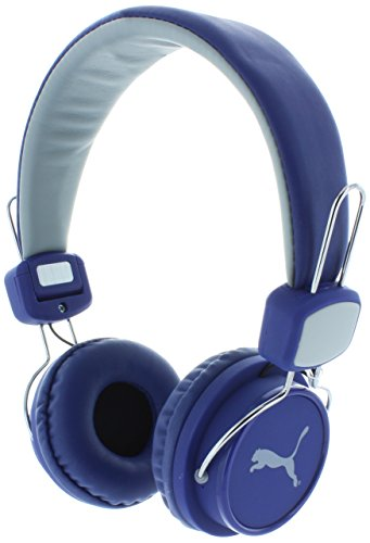 Price comparison product image Puma League Headband Headphones For Mobile Phone Blue