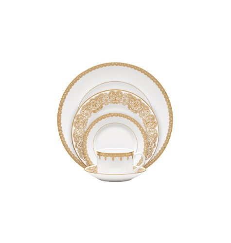 LISMORE GOLD 5 PIECE PLACE SETTING ()