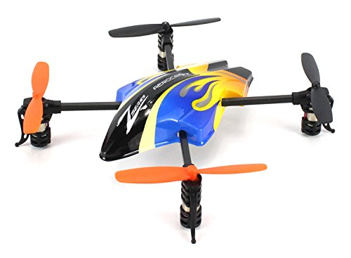 - Flaming Zee 601 Electric RC Quadcopter 2.4GHz Lightweight Quad-Rotor Drone GYRO Gyroscope 4CH Channel Ready To Fly RTF (Colors May Vary)