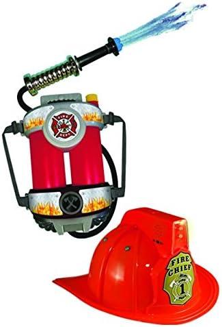 Aeromax FireFighter Kids Bundle 1 of Each Helmet with Sound FirePower Water Gun