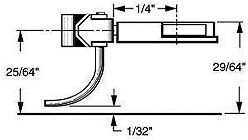 HO Multi-Purpose Coupler, 1/4 Center (2pr) by Kadee Qualtiy Products, CO.