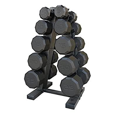 CAP Barbell 150 lb. Eco Dumbbell Set with Rack