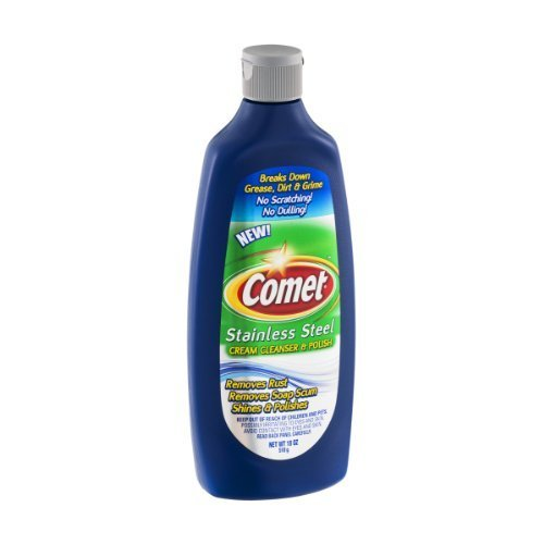 Comet Stainless Steel Cream Cleaner & Polish