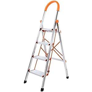 Amazon Com Lifewit 4 Step Stool Ladder Portable Folding
