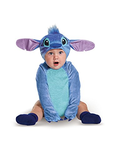(Disguise Baby Stitch Infant Costume, Blue, 12 to 18)