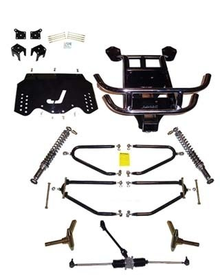 EZGO TXT 2001.5-Up Golf Cart Jakes Long Travel Lift Kit by Jake's