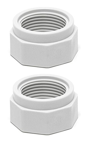 Set of 2 Zodiac D15 Feed Hose Nut Replacement for 180 280 380 Polaris Cleaner (Feed Polaris 380)