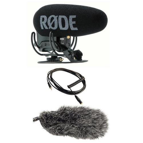 Rode Microphones VideoMic Pro+ Directional On-Camera Microphone with Basic Accessory ()