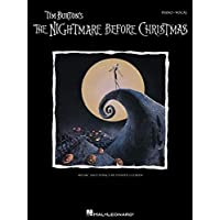 Tim Burton's The Nightmare Before Christmas: P/V/G (Piano Vocal Series)