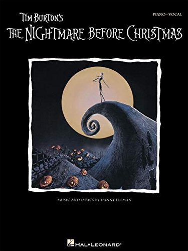 Tim Burton's The Nightmare Before Christmas: P/V/G (Piano Vocal Series) (Creepy Halloween Music Online)